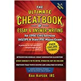 UPSC Civil Service IAS-IPS, IES and State PSC Main Exam Preparation, CSE, CAPF, UPPSC Essay and Answer-Writing Cheatbook   Co