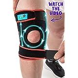 FitFitaly Kniebandage voor Patella, Meniscus en Ligamenten - Verstelbare Kniebrace voor Sporten