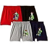 BODYCARE Boy's Regular fit Underpants Set (Pack of 4)
