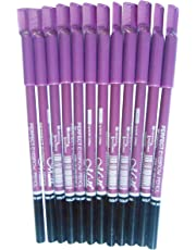 N&M Perfect Waterproof and Long-lasting Eyebrow Pencil - Pack of 12 Pieces