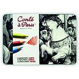 Conté à Paris - Assortiment de 12 Crayons Pastels