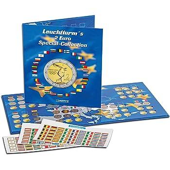 Leuchtturm Album Numismatique PRESSO, Euro-Collection pour