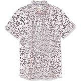 Goodthreads Men's Standard-Fit Short-Sleeve Printed Shirt