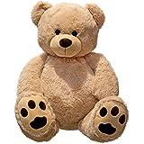 Peluche gigante orsacchiotto XXL peluche orsetto alto 100 cm vellutato morbido - da amare