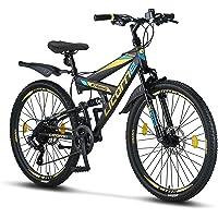 Licorne Bike Strong 2D Premium Mountainbike in 26, 27,5 und 29 Zoll - Fahrrad für Jungen, Mädchen, Damen und Herren…