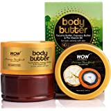 WOW Amazon Rainforest Collection Body Butter with Tucuma and Cupuacu Butter - No Paraben, Mineral Oil, Silicones and Color, 2