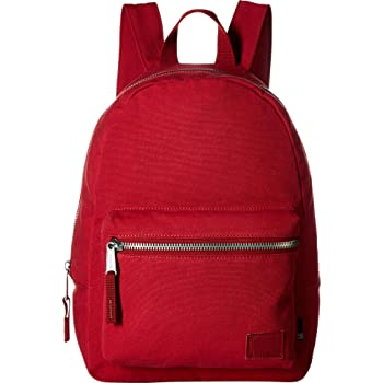 0430985326e Herschel Cotton Canvas Grove X-Small Backpack red