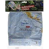 Topographischer Globus aufblasbar: aufblasbar, 40cm, deutsch
