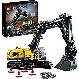 LEGO Technic Escavatore Pesante, Trattore, Modellino 2 in 1, Kit di Costruzione Veicolo Scavatore per Bambini dagli 8 Anni in