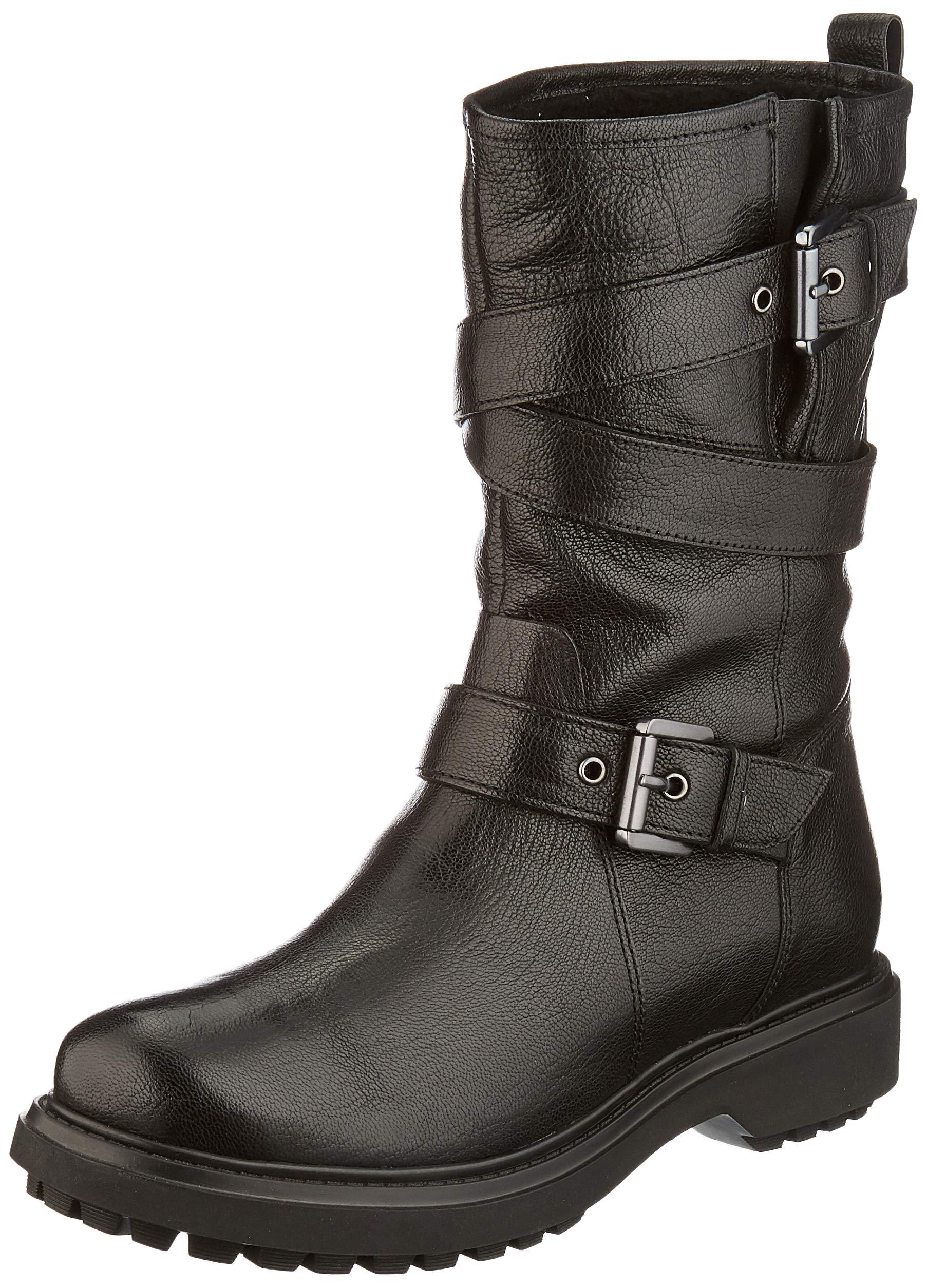 Geox Damen D Asheely D Biker Boots 1