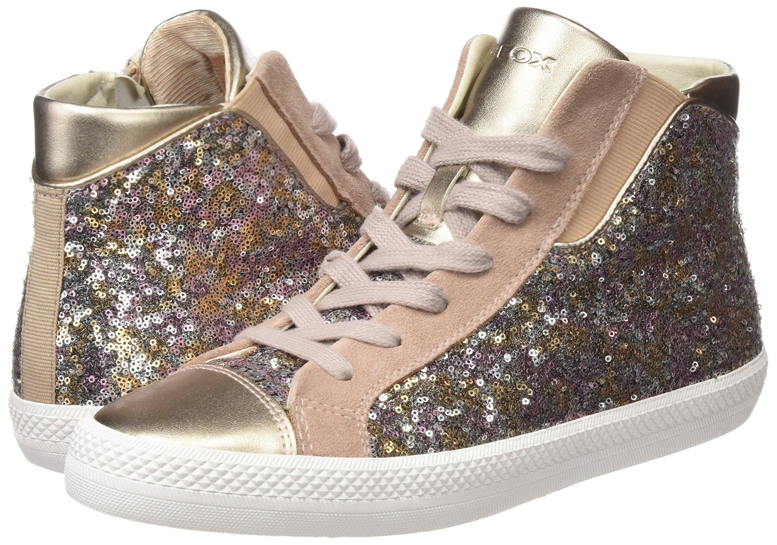 Geox Damen D Giyo A Hohe Sneaker 5