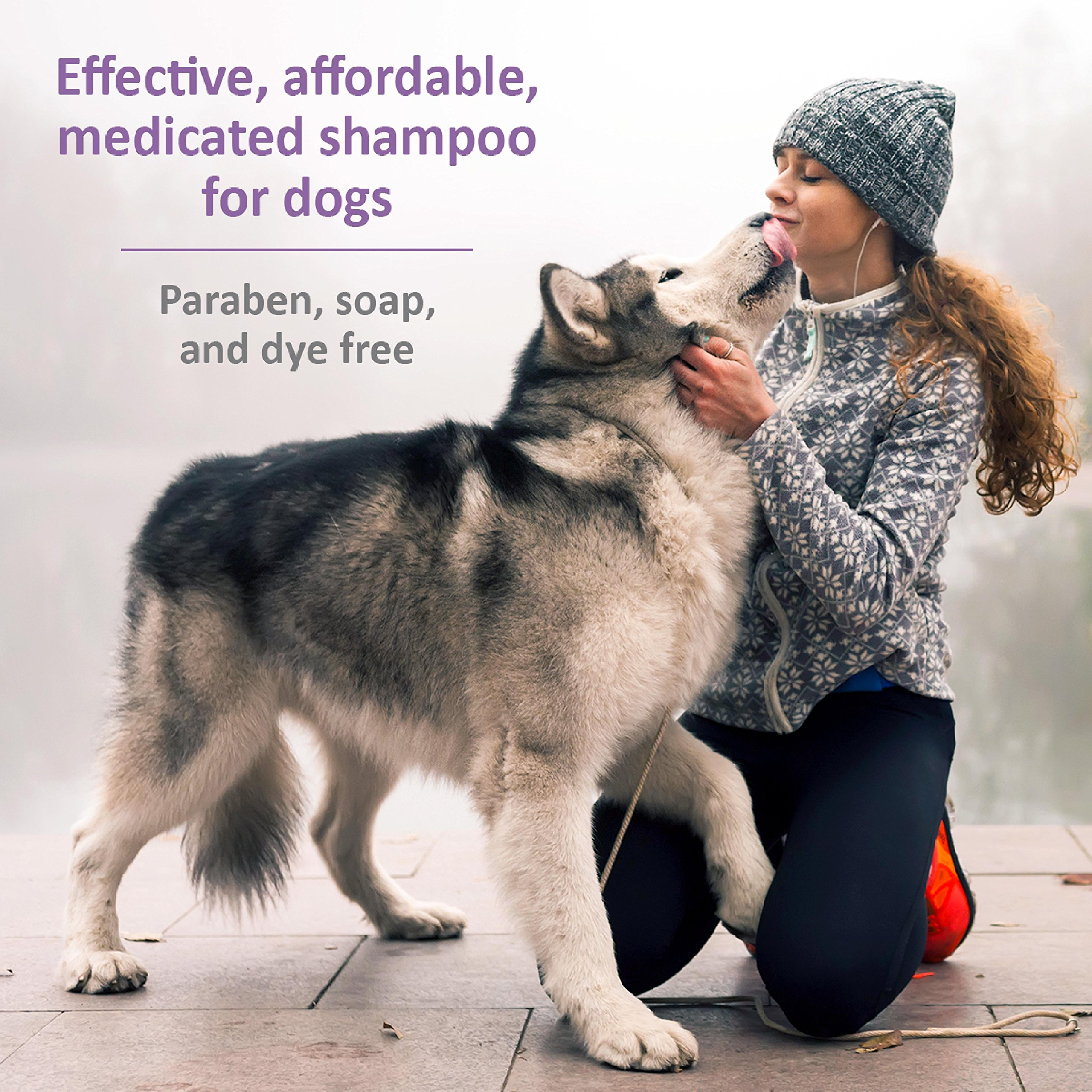SynergyLabs Veterinary Formula Clinical Care Antiparasitic & Antiseborrheic  Medicated Shampoo for Dogs