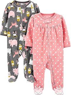 ARTESANIA CERDA Baby-M/ädchen Pijama Largo Minnie Schlafstrampler