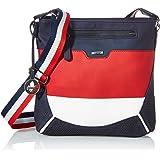 Rieker Damen H1338 Handtasche, Blau Kombi, 270x55x270