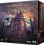 Les Demeures de l'Epouvante : 2e édition - Asmodee - Jeu de société - Jeu de plateau coopératif