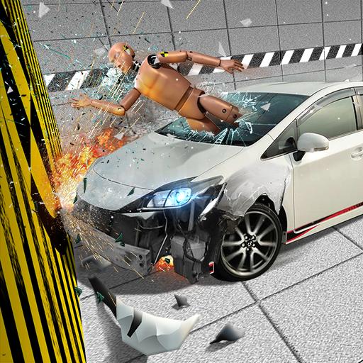 VR Car Crash Test 3D Simulator