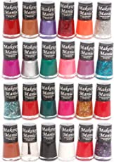 Makeup Mania Exclusive Nail Polish Set (Multicolor No.76, 81, Pack of 24)