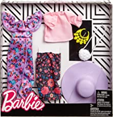 Barbie Fashion Ruffles and Floral 2 Pack