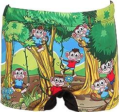 Mitushi Products Boy's Swim Shorts MONKEY