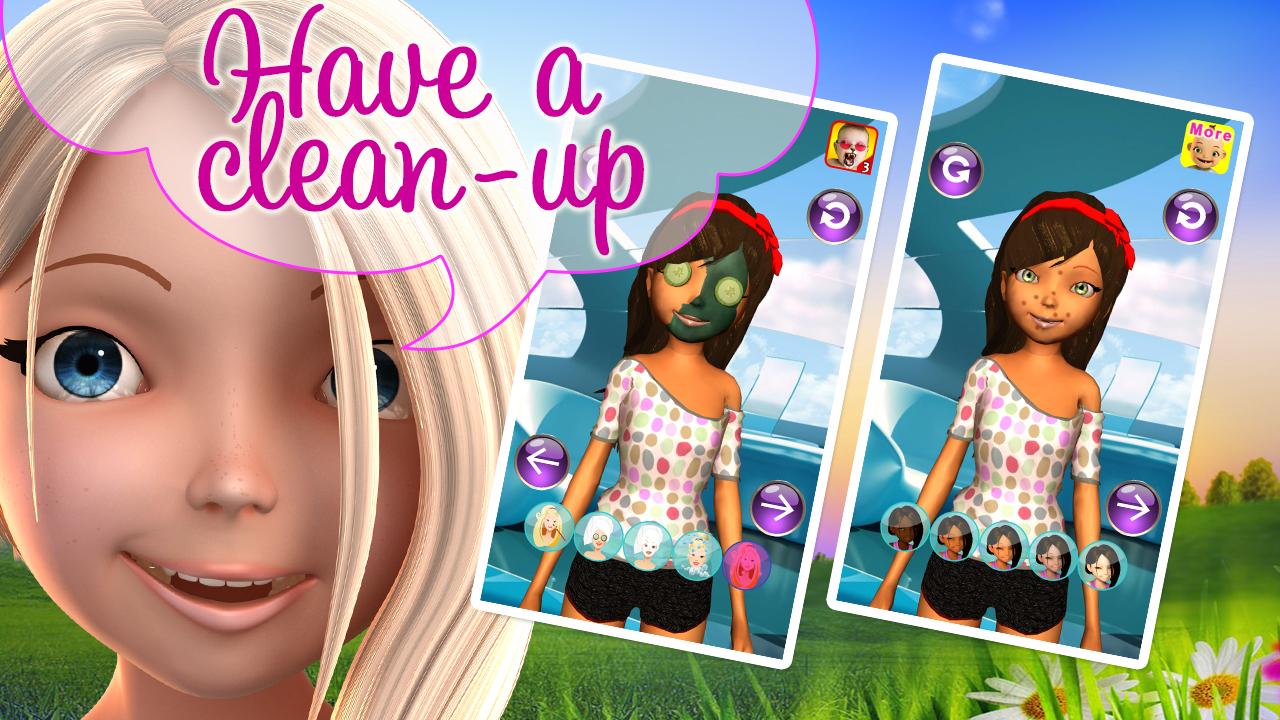 Zoom IMG-3 princess 3d salon girl star