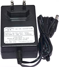 M. A. Enterprises DC 9V 500ma DC Cable Compatible Power Adapter for Zoom Adapter 9V AD16 PSU Power Supply for G2.1Nu