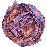 MA.AL.BI.1947 Manifatture Alto Biellese Scialle lana donna grande in 100% pura lana vergine 90X180 cm