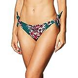 Marchio Amazon - Iris & Lilly Slip Bikini a Vita Bassa con Laccetti Laterali Donna