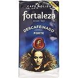 Café FORTALEZA - Café Molido Descafeinado Forte, Pack de 3 x 235 g, Totale: 705 g