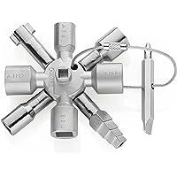 Knipex TwinKey 00 11 01 – pour armoires électriques, fenêtres et systèmes de sectionnement