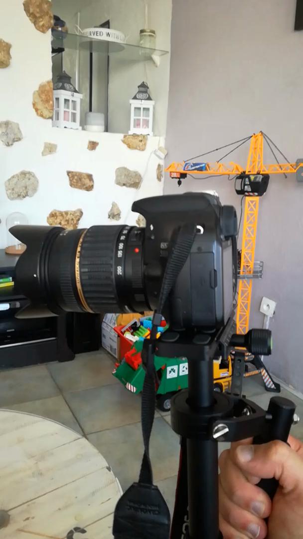 LESHP S40 Estabilizador de Mano 3-ejes para Camara Reflex Canon ...
