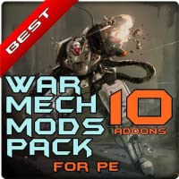 War Mech Robot Mods Pack for PE