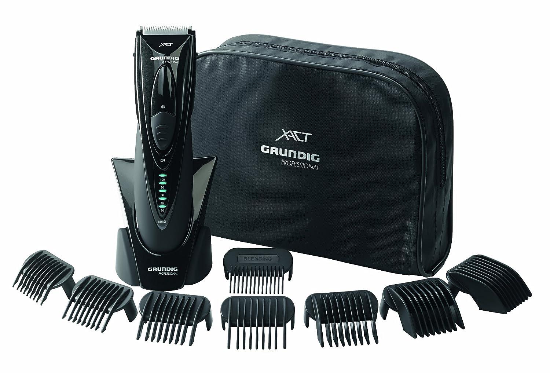 Der Hersteller Grundig bietet einen Profi-Haarschneider mit zahlreichem Zubehör an.