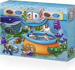 """Bestway Fast Set Pool """"3D Adventure"""" 213 x 66cm"""