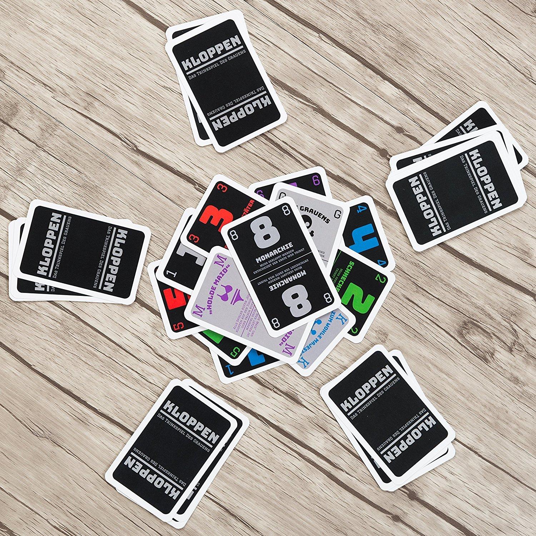 Trinkspiel | Partyspiel | Kloppen   Das Trinkspiel Des Grauens   Das  Actiongeladene Reaktionsspiel Für Erwachsene Ab 18 ...