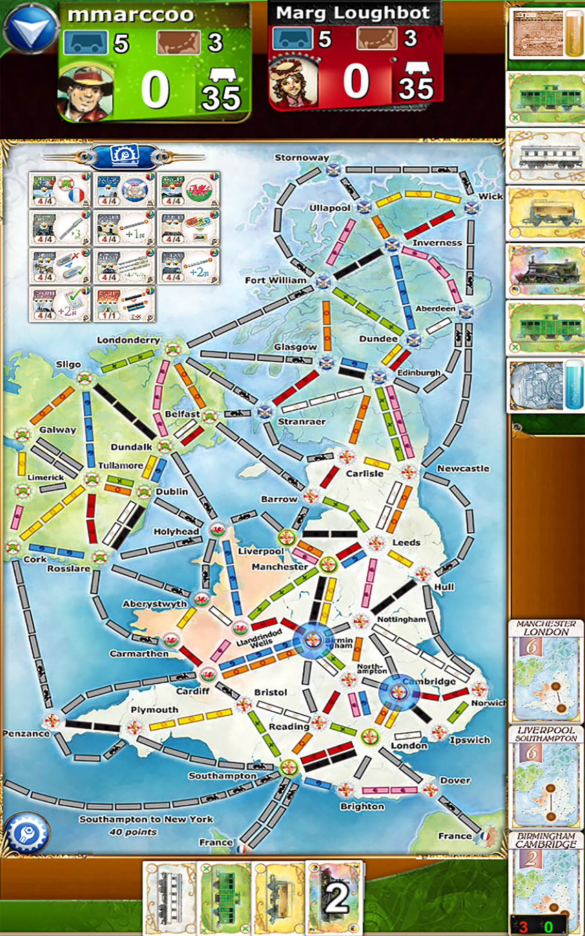 Ticket to Ride - 7