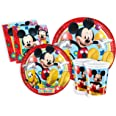 Ciao y2495 – Kit Party Party In Mickey Mouse Club House för 24 personer (112 stycken: 24 stora tallrikar, 24 tallrikar medi,
