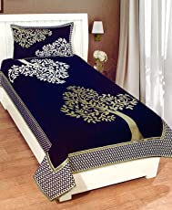 Fresh from Loom 500 TC Floral Design Premium Chenille Bed Cover