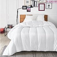 My Lovely Bed - Couette 4 Saisons - 140x200 cm - 3 en 1 (200g/m² et 300g/m² = 500g/m²) - Chaude pour l'hiver/Légère pour…