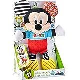 Clementoni Baby Mickey-Peluche Premières activités-Premier âge-Disney, Polka Dots, 17165, Multicolore, One Size