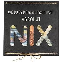Geldgeschenk als Grußkarte NIX - Nichts gewünscht für Geburtstag Reisen Urlaub Hochzeit - originelle Idee, individuelles…