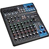 Yamaha MG10XU Mixer Audio, Console di Mixaggio Compatta con 10 Canali d'Ingresso e Preamplificatori Microfonici D-PRE
