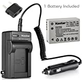 CB-2LC Battery Charger + canon NB-10L Li-ion Battery, for canon PowerShot SX40 HS, SX50 HS, G15, G16, & more