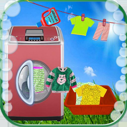 Kinder Wäsche waschen Kleidung (Harte Kleidung)