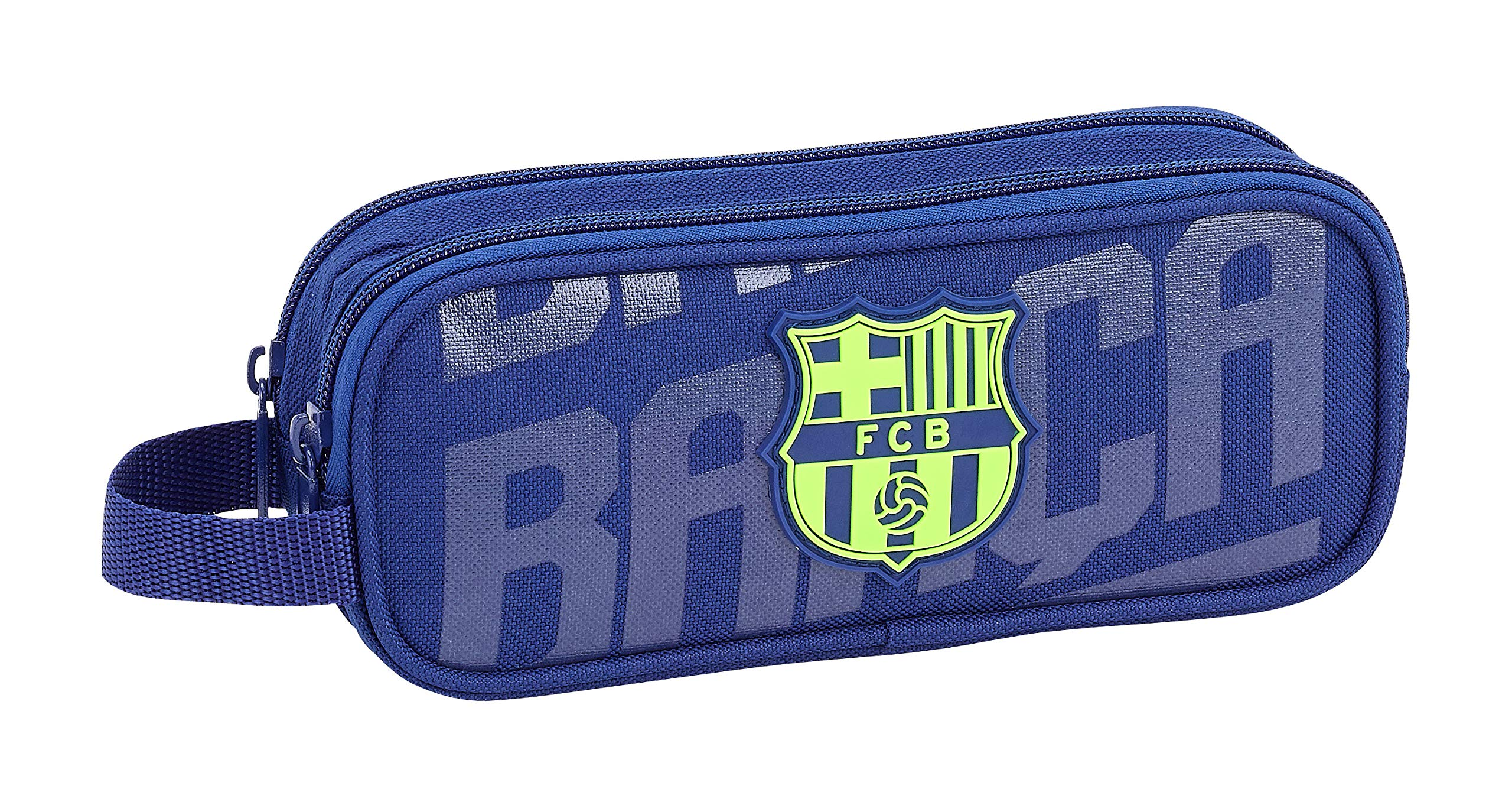 FCB FC Barcelona Estuche, Niños, Azul, 21 cm