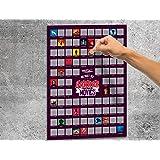#winning Scratch Poster - 100 Horror Movies