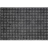ID Mat M11 Caillebotis Caoutchouc Noir 120 x 80 x 2,29 cm