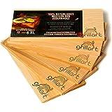 grillart® Tavole da griglia XL da 6 Pezzi - Legno di Cedro per Grigliare - Tavole di incenso in Legno di Cedro Rosso Occident