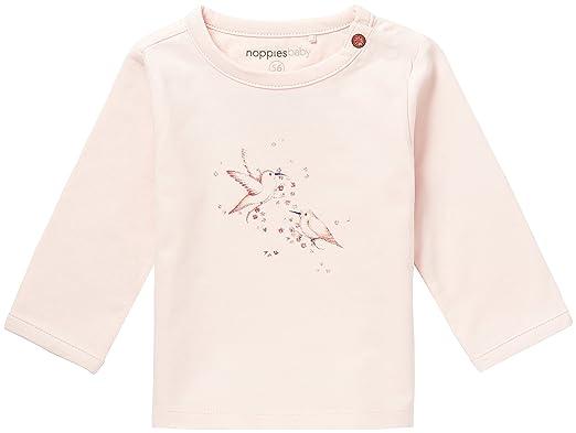 Noppies Baby-M/ädchen Langarmshirt