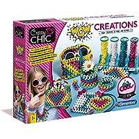 Clementoni- Crazy Chic-WOW Créations-fabriqué en Italie-kit de Loisir créatif, 7 Ans et Plus, 18540, Multicolore