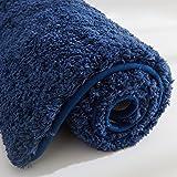 COSY HOMEER Tapis de Bain Fait en Polyester à 100%, Extra Doux et antidérapant, Spécialisé dans Les Tapis de Douche lavables